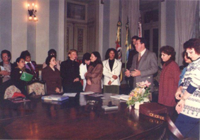 Posse do Conselho Municipal de Direitos das Mulheres (COMDIM)